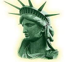 Statue of Liberty; USA; New York; America by TOM HILL - Designer
