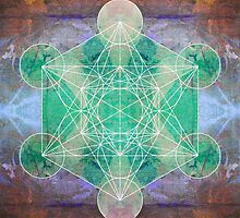 Metatron's Cube c by filippobassano