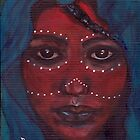 African Tribal Face - A Tribute by Mariaan M Krog Fine Art Portfolio