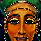 NEFERTITI - MYSTERIOUS & POWERFUL by Mariaan M Krog Fine Art Portfolio