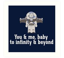 To Infinity & Beyond Art Print