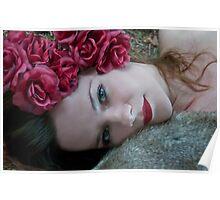 Tamed Rose Poster