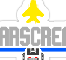 Top Starscream Sticker