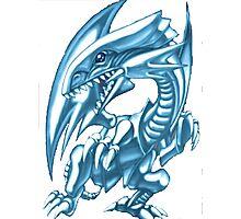 blue eyes white dragon yugioh Photographic Print