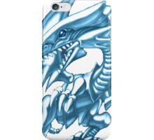 blue eyes white dragon yugioh iPhone Case/Skin