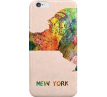 new York map  iPhone Case/Skin