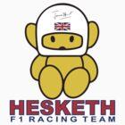 Hesketh F1 Racing retro James Hunt by AlexVentura