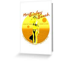 Mos Eisley Beach Greeting Card