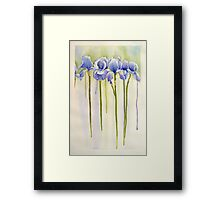 All Pretty Maids in a Row Framed Print