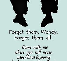 Peter & Wendy - Quote by Mellark90