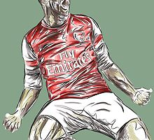 Theo Walcott by ArsenalArtz