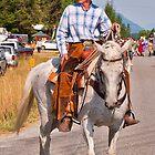 Trout Creek Huckleberry Festival Parade 2014 by Bryan D. Spellman