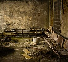 Chernobyl Hospital Waiting Room by CarlosMillan