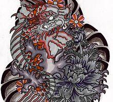 Koi dragon by Thoricartist