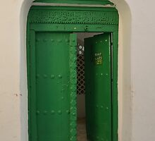 Green door, Zanzibar by Pier Vido