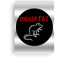 Mouse Rat (Authentic Edition)  Canvas Print