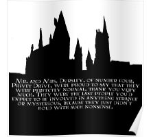Hogwarts - At the Beginning  Poster