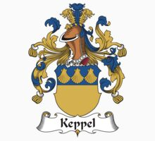 Keppel Coat of Arms (German) by coatsofarms