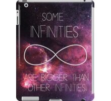 Galaxy-Some Infinities are bigger than other infinities-The fault in our stars iPad Case/Skin