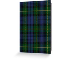 00034 Gordon Clan Tartan Greeting Card