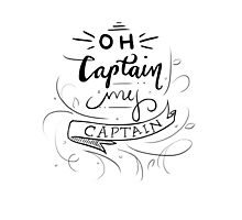 Oh Captain, My Captain Photographic Print