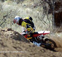 """Catch Me ... If you can""!  Honda Rider, A.J. Hedger #6, I-5 MX, Gorman, CA USA  by leih2008"