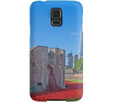 Poppies in the Moat Samsung Galaxy Case/Skin