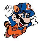 Super NFL Bros. - Denver Broncos by VectorTony