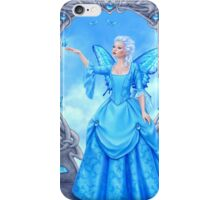 Blue Topaz Birthstone Fairy iPhone Case/Skin