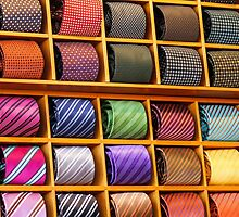 colorful ties by spetenfia