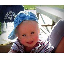 Cute little Hat-Head Photographic Print