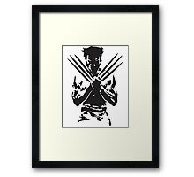 SteelRage Framed Print