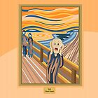 The Scream by Munch by alapapaju