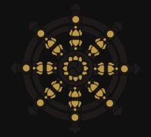 Dharma Wheel of Fortune, Buddhism, Auspicious Symbol Kids Clothes