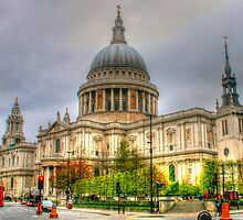 St Pauls Cathedral near dusk by Michael Matthews