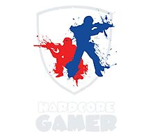 Hardcore Gamer Photographic Print