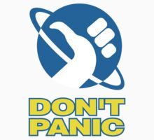 Hitchhiker's Guide To The Galaxy (Don't Panic) T-Shirt