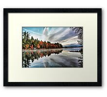 Highland Lake - Bridgton, Maine Framed Print