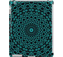 Teal Rings Mandala iPad Case/Skin