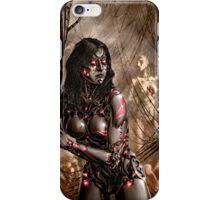 Cyberpunk Painting 032 iPhone Case/Skin