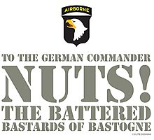 101st AIRBORNE - NUTS! Photographic Print