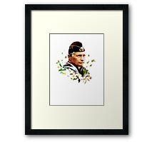 Vladimir Putin - Flowers Framed Print