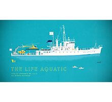 The Life Aquatic with Steve Zissou Photographic Print