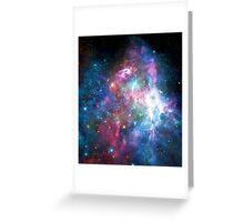Nebula Galaxy Print Greeting Card