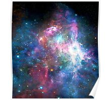 Nebula Galaxy Print Poster
