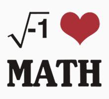 I LOVE MATH by awesomegift