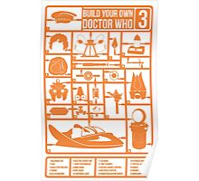 Build Your Own Doctor Who 3 Poster