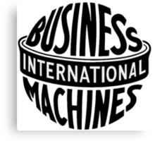 Old IBM logo Canvas Print