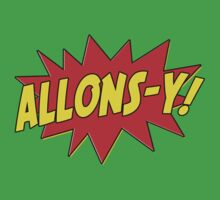 Allons-y! (Comics) Kids Clothes