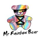Mr Rainbow Bear by lockwie